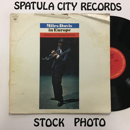 Miles Davis - Miles Davis in Europe - vinyl record LP