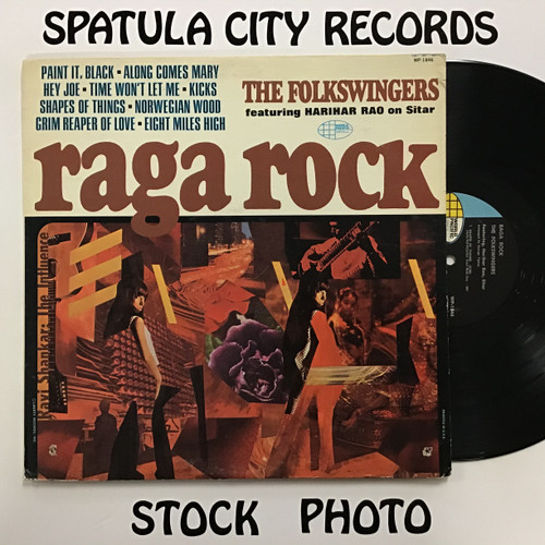 Folkswingers, The - Raga Rock - MONO - vinyl record LP