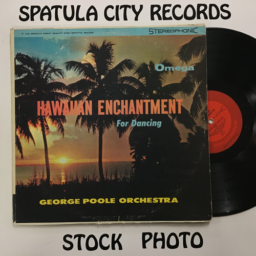 George Poole Orchestra - Hawaiian Enchantment for Dancing - vinyl record LP