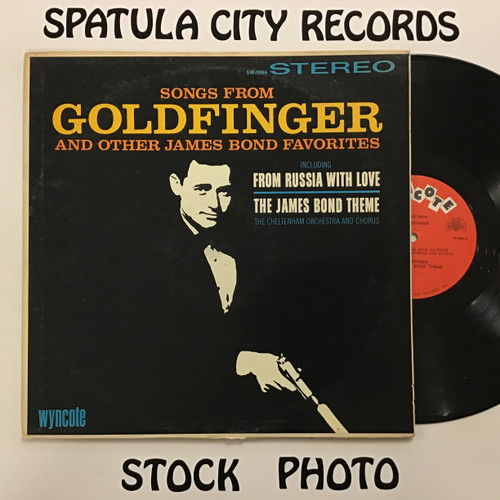 Cheltenham Orchestra and Chorus, The - Songs from Goldfinger - MONO - vinyl record LP