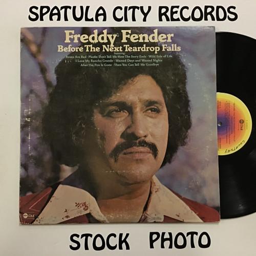 Freddy Fender - Before the Next Teardrop Falls - vinyl record LP