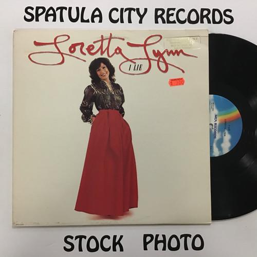 Loretta Lynn - I Lie - PROMO - vinyl record LP