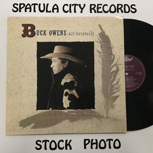 Buck Owens - Act Naturally - vinyl record LP