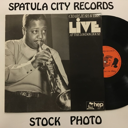 Charlie Shavers - Live at the London House - IMPORT - MONO - vinyl record LP