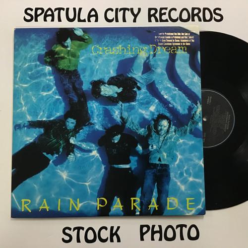 Rain Parade - Crashing Dream - PROMO - vinyl record LP
