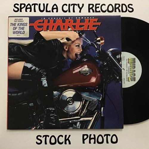 Charlie - In Pursuit of Romance - PROMO - vinyl record LP