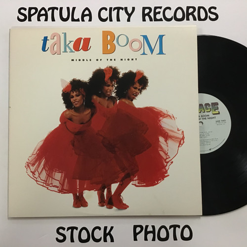 Taka Boom - Middle of the Night - PROMO - vinyl record LP