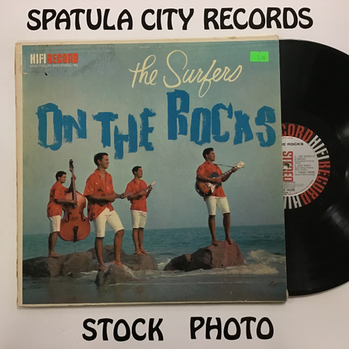 Surfers, The - On The Rocks - vinyl record LP