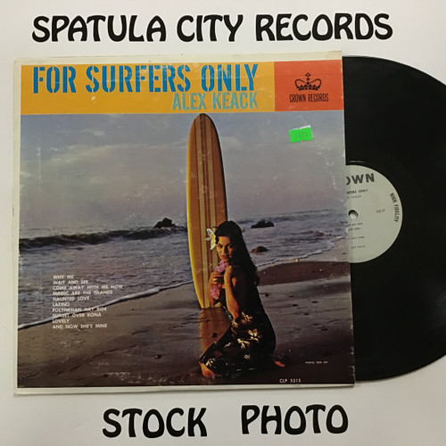 Alex Keack - For Surfers Only - MONO - vinyl record LP