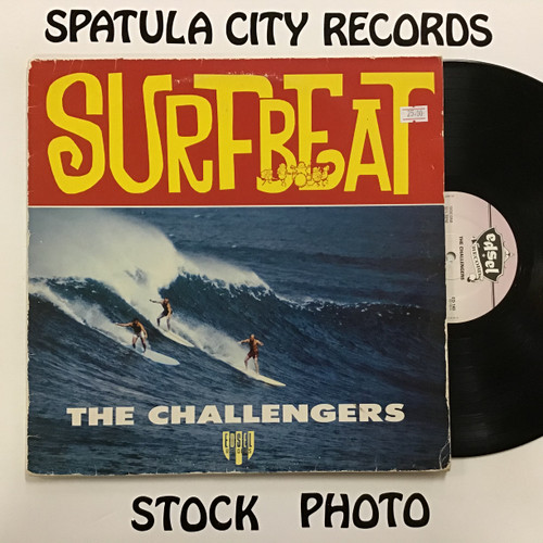 Challengers, The - Surfbeat - IMPORT - vinyl record LP