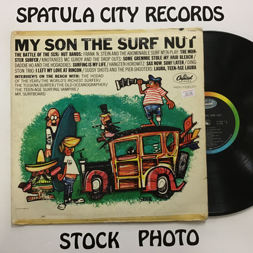 Jack Marshall - My Son the Surf Nut - MONO - vinyl record LP