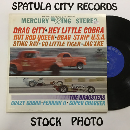 Dragsters, The - Drag City/Hey Little Cobra - vinyl record LP