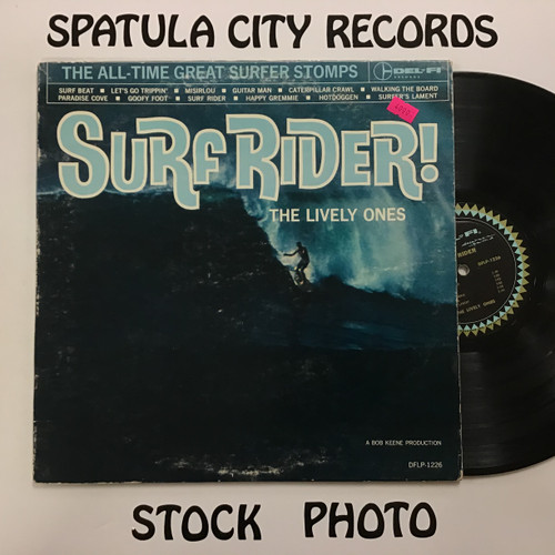 Lively Ones, The - Surf Rider - MONO - vinyl record LP