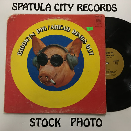 Blodwyn Pig - Ahead Rings Out - vinyl record LP
