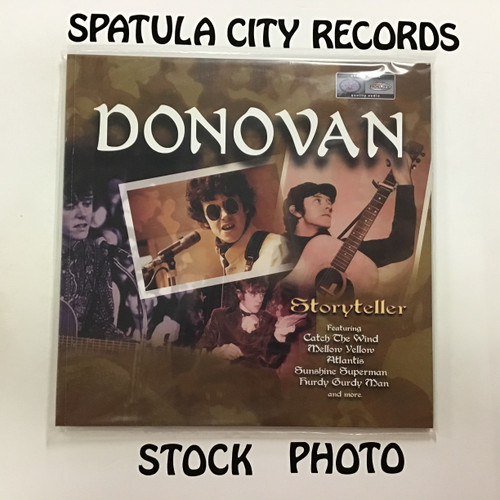 Donovan - Storyteller - SEALED - double vinyl record album LP