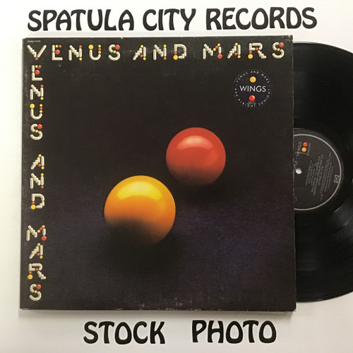 Wings - Venus and Mars are alright tonight viny record LP