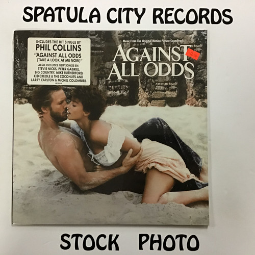 Against All Odds - Soundtrack - SEALED - vinyl record LP