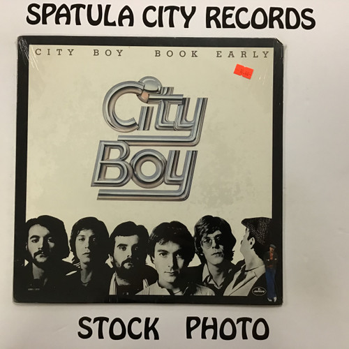 City Boy - Book Early - SEALED - vinyl record LP