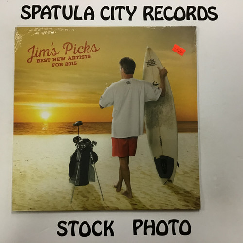 Jim's Picks Best New Artists for 2015 - compilation - vinyl record LP