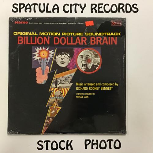 Billion Dollar Brain - soundtrack - SEALED - vinyl record LP