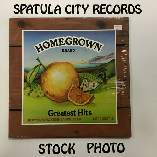 Homegrown Brand Greatest Hits - compilation - SEALED - vinyl record LP