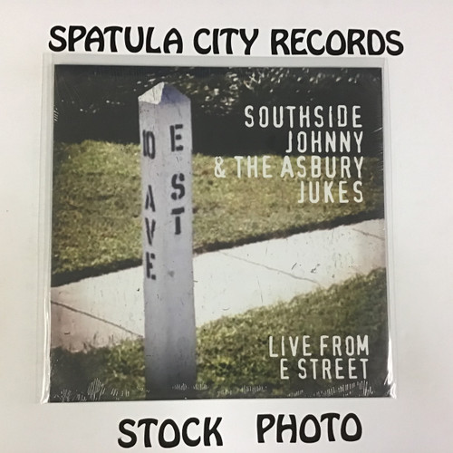 Southside Johnny and the Ashbury Jukes - Live From E Street - SEALED - vinyl record LP