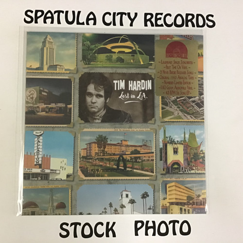 Tim Hardin - Lost in L.A. - SEALED - vinyl record LP