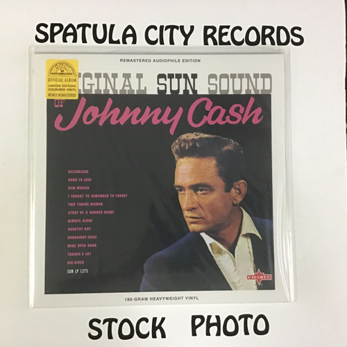 Johnny Cash - Original Sun Sound - IMPORT - SEALED - vinyl record LP