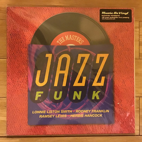Masters Series Jazz Funk, The - compilation - IMPORT - SEALED - double vinyl record LP