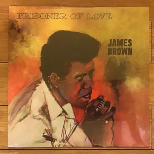 James Brown - Prisoner of Love - SEALED RE-ISSUE  - vinyl record LP