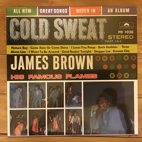 James Brown and His Famous Flames - Cold Sweat - SEALED RE-ISSUE - vinyl record LP