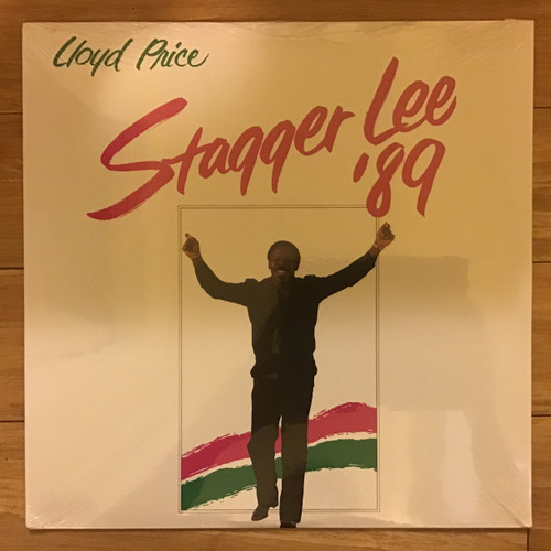 Lloyd Price - Stagger Lee 89 - SEALED - vinyl record LP