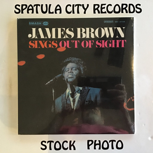James Brown - Sings  Out of Sight - SEALED - vinyl record LP