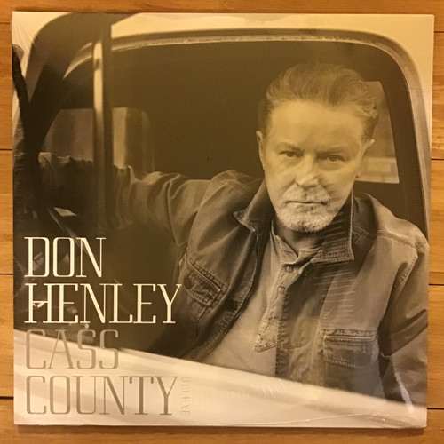 Don Henley - Cass County - SEALED IMPORT  - double vinyl record LP