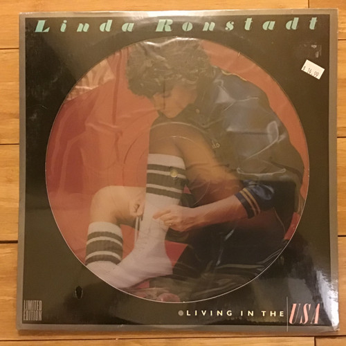 Linda Ronstadt - Living in the USA -SEALED - PICTURE DISC -  vinyl record LP