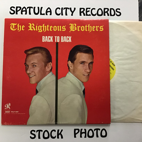 Righteous Brothers, The - Back to Back - vinyl record LP