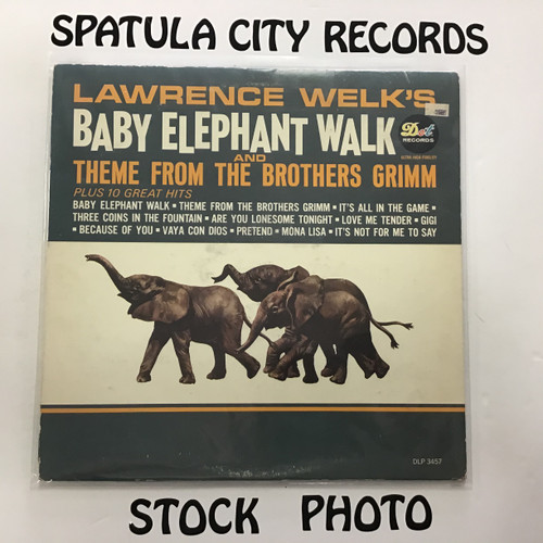 Lawrence Welk - Lawrence Welk's Baby Elephant Walk and Theme from The Brothers Grimm - MONO - vinyl record LP