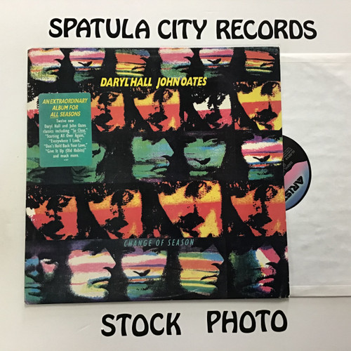 Daryl Hall and John Oates - Change of Season - vinyl record LP