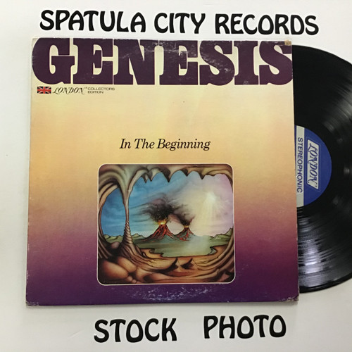 Genesis - In the Beginning - vinyl record LP