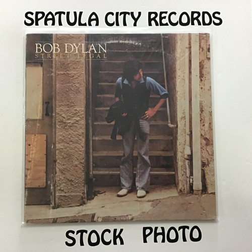 Bob Dylan - Street Legal - vinyl record LP