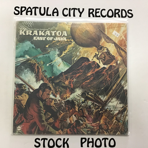 Frank De Vol - Krakatoa, East of Java - soundtrack - SEALED - vinyl record LP