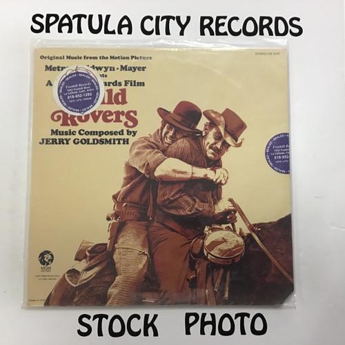 Jerry Goldsmith - Wild Rovers - soundtrack - SEALED - vinyl record LP