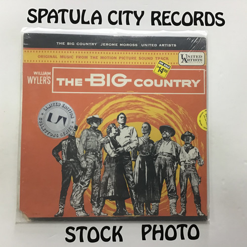 Jerome Moross - The Big Country - soundtrack - SEALED - vinyl record LP