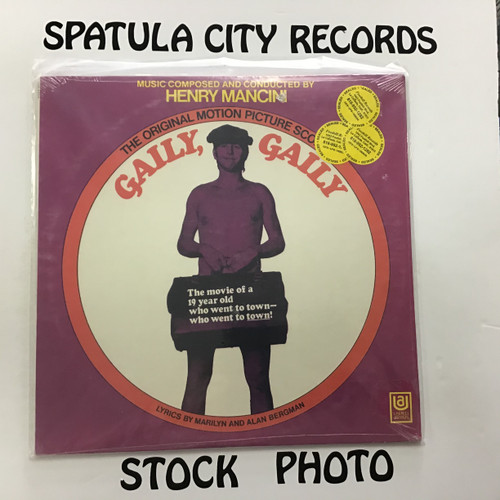 Henry Mancini - Gaily, Gaily - soundtrack - SEALED - vinyl record LP