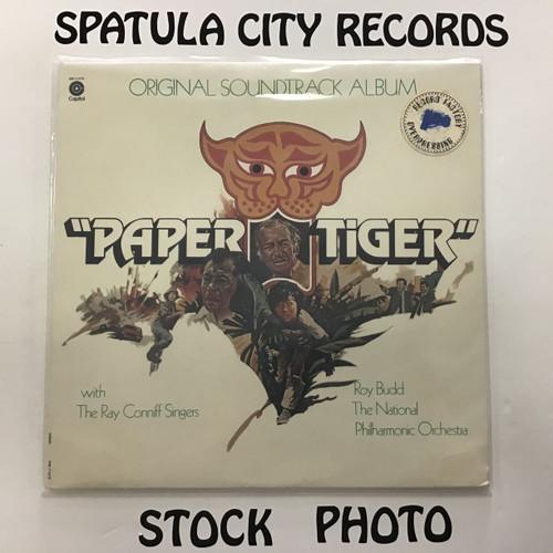 Roy Budd - Paper Tiger - soundtrack - SEALED - vinyl record LP