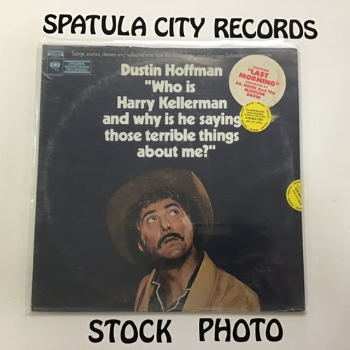 Dustin Hoffman - Who is Harry Kellerman and why is he saying those terrible things about me? - soundtrack - SEALED - vinyl record LP