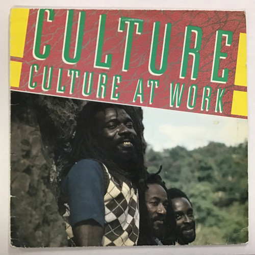 Culture - Culture at Work Vinyl record