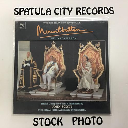 John Scott - Mountbatten: The Last Viceroy - soundtrack - SEALED - vinyl record LP
