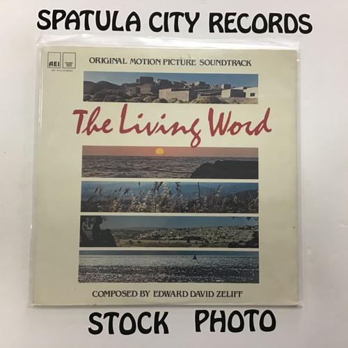 Edward David Zeliff - The Living Word - soundtrack - SEALED - vinyl record LP