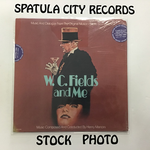 Henry Mancini - W.C. Fields and Me - SEALED - vinyl record LP